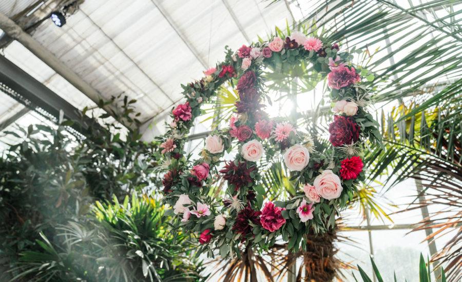 Freie Trauung in der Blumenhalle in Jülich